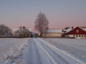 Lillehov vinter